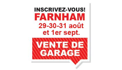 Ventes de garage à Farnham