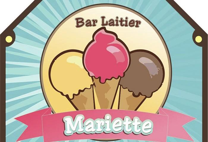 Ouverture du bar laitier chez Mariette