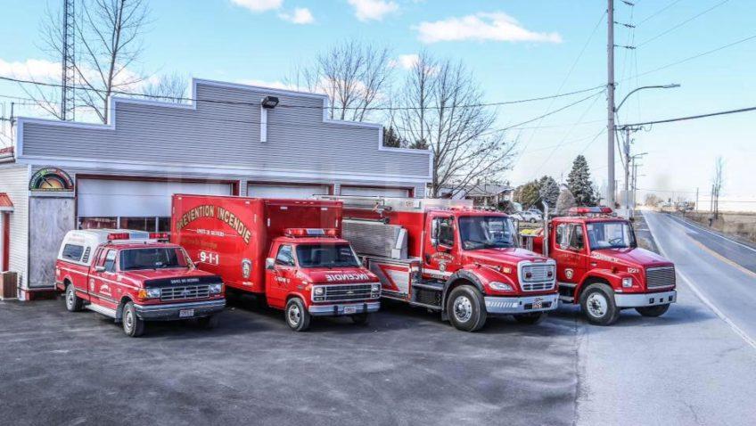 Portes ouvertes 2019 à la caserne du service des incendies de St-Armand et Pike River