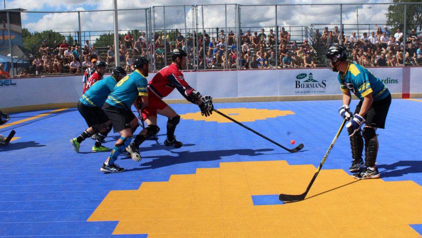 Tournoi de Dek Hockey au profit du club de hockey senior