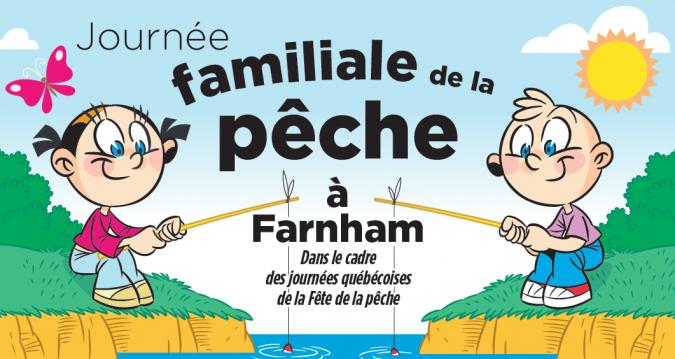 Journée familiale de la pêche à Farnham