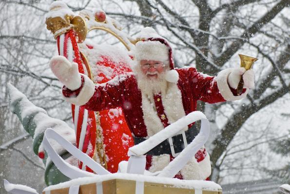 Défilé du Père Noël à Cowasnville