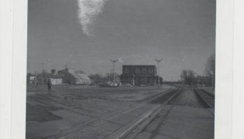 Vue de la Gare de Farnham 1965