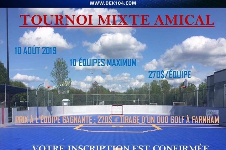 Dek 104 – Tournoi mixte amical
