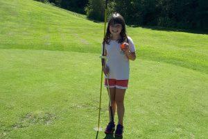 Première journée au golf