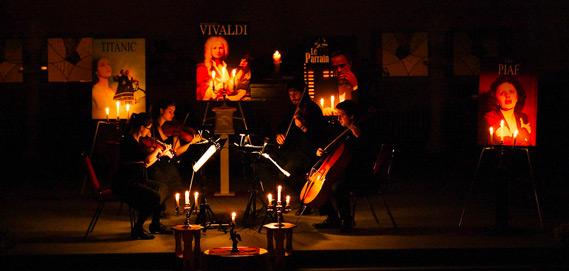 Concert sous les chandelles à l'église St-Romuald