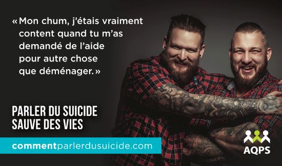 Semaine nationale de la prévention du suicide