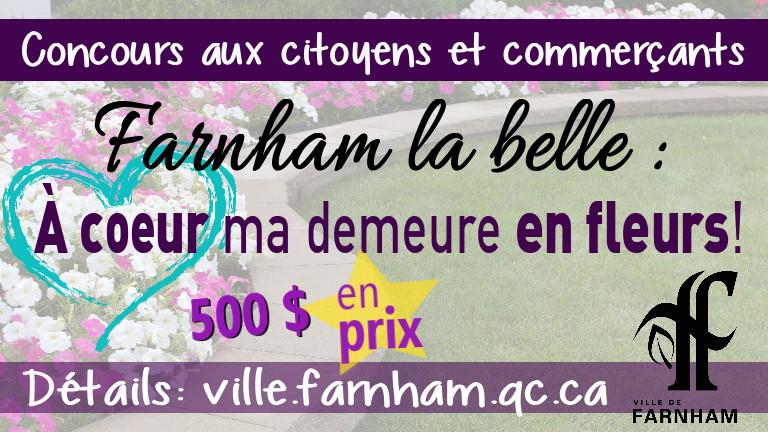 Concours Farnham la belle