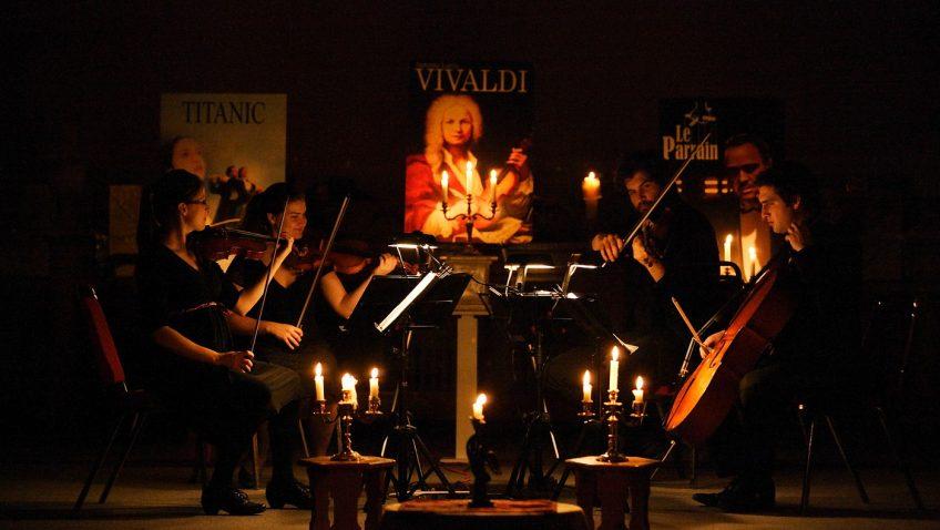 Concert Quatuor Ambitus sous les chandelles