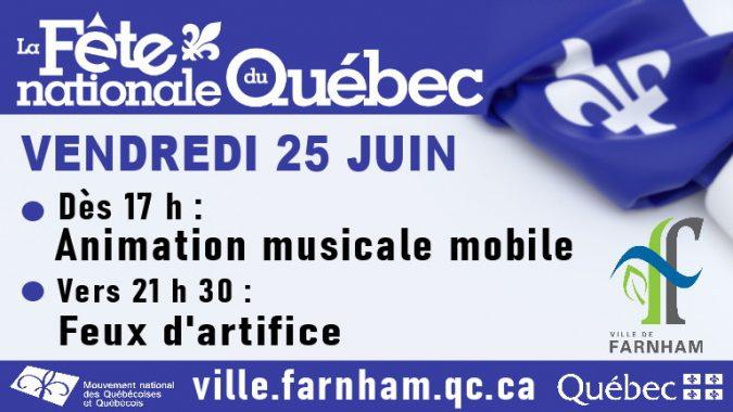 La Fête nationale du Québec à Farnham