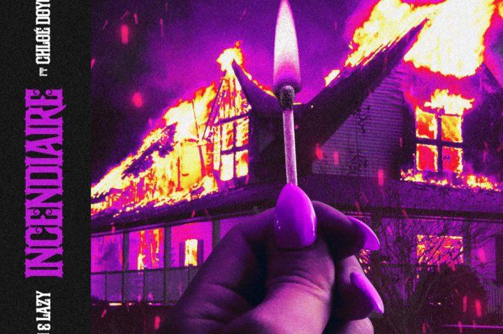 Sortie de l'album Incendiaire du groupe Jo & Lazy