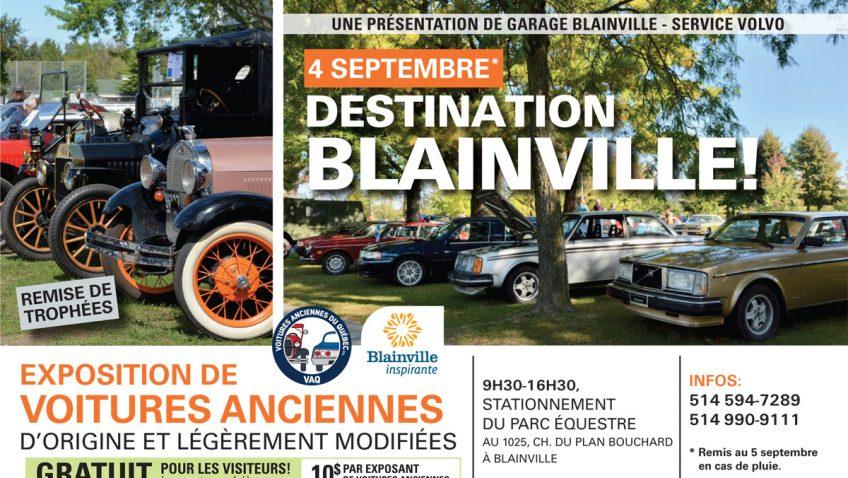 Exposition de voitures anciennes originales et/ou modifiées