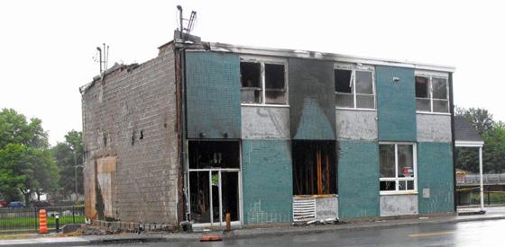 Autre incendie à Farnham