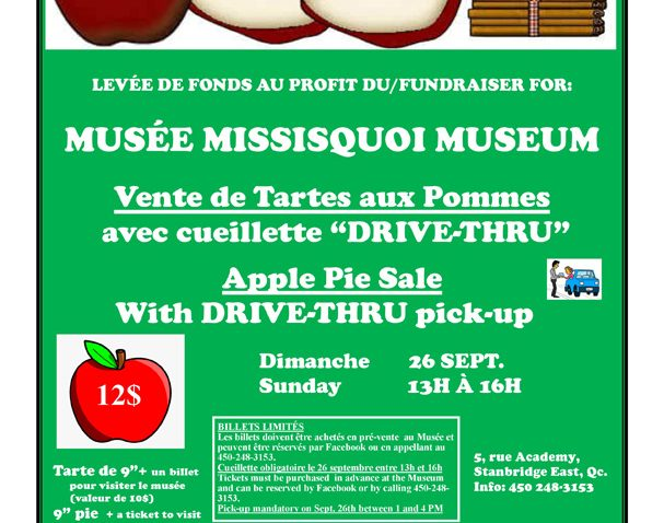 Levée de fonds au profit du Musée Missisquoi
