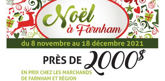 Promotion Noël à Farnham